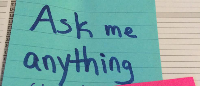 Dear Readers, Ask Me Anything