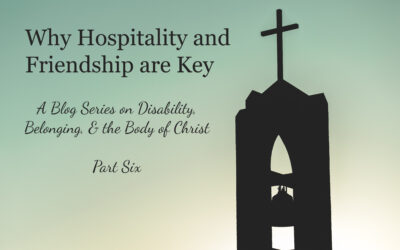 Why Hospitality and Friendship are Key